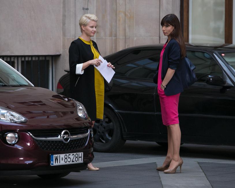 """Ciężarną Marię Okońską zobaczymy w 6. odcinku """"Prawa Agaty"""" /x-news / Agnieszka K. Jurek /TVN"""