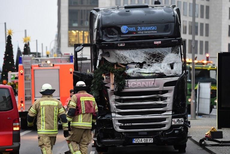 Ciężarówka Polaka /AFP