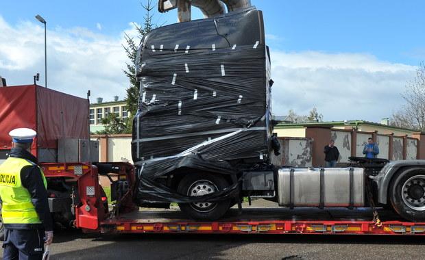 Ciężarówka użyta w zamachu w Berlinie wróciła do Polski