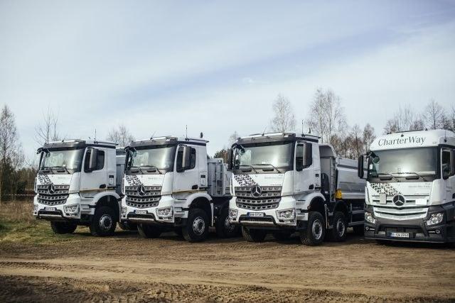 Ciężarówki Mercedesa /