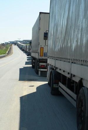 Ciężarówki /Darek Delmanowicz /PAP