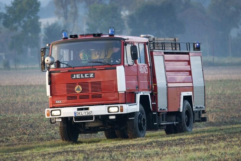 Ciężki bojowy wóz straży produkcji Jelcza /Przemysław Ziemacki /East News