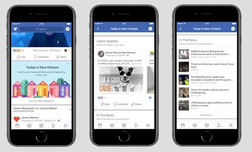 Ciężko nadążyć za nowościami Facebooka /materiały prasowe