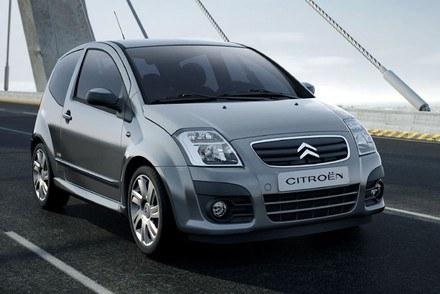 Citroen C2 / Kliknij /INTERIA.PL