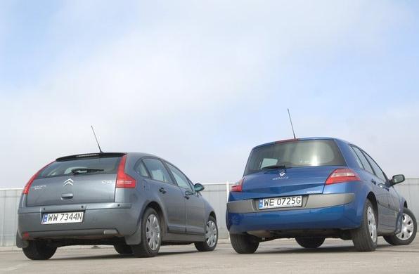 Citroen C4 i Renault Megane /Motor