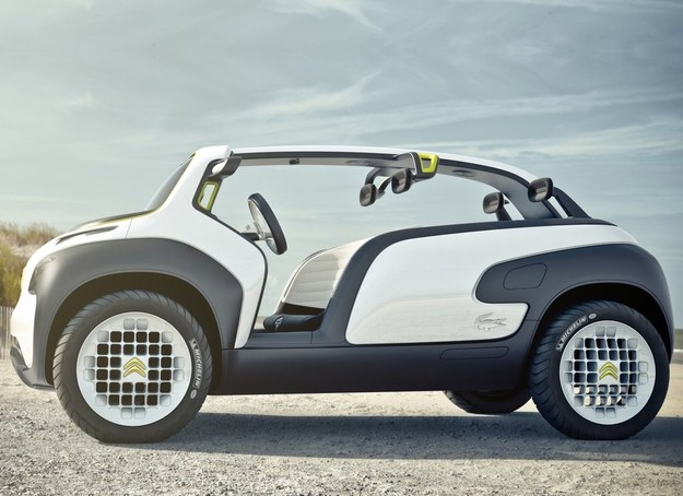 Citroën słynie z interesujących aut koncepcyjnych. To przygotowała dla niego firma Lacoste. /Citroen