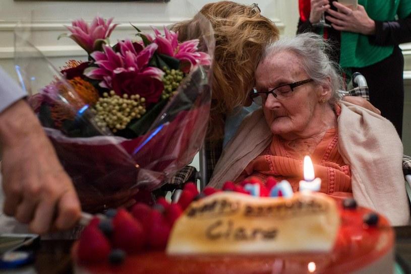 Clare Hollingworth obchodziła rok temu 105. urodziny /AFP