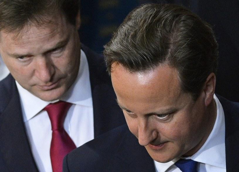 """Clegg: Obecny system świadczeń na dzieci to """"perwersja"""" /AFP"""