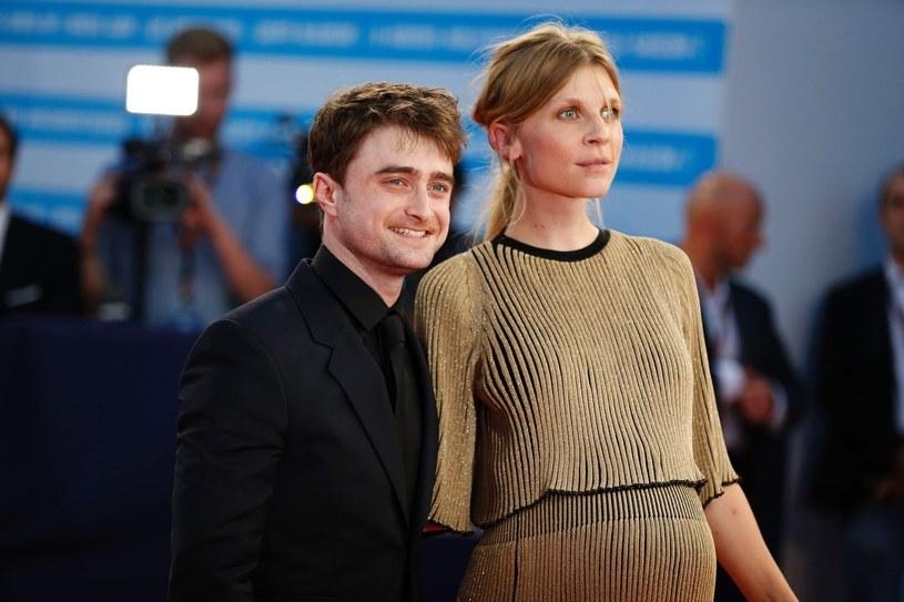 Clémence Poésy i Daniel Radcliffe /CHARLY TRIBALLEAU  /East News