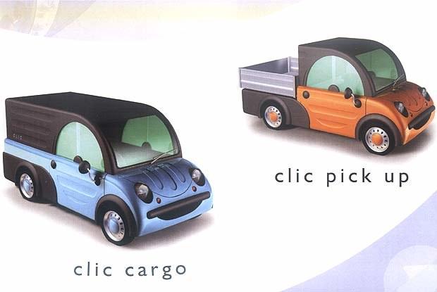 Clic Cargo i Clic Up (kliknij) /INTERIA.PL