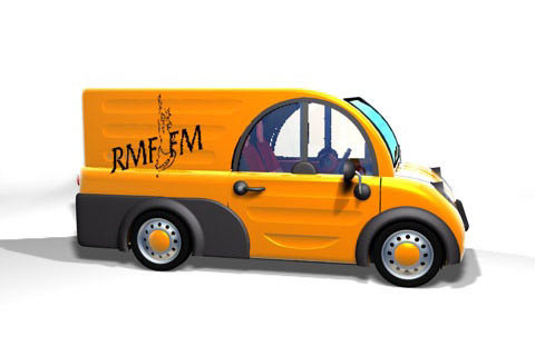 Clic Cargo w barwach RMF.FM (kliknij) /INTERIA.PL