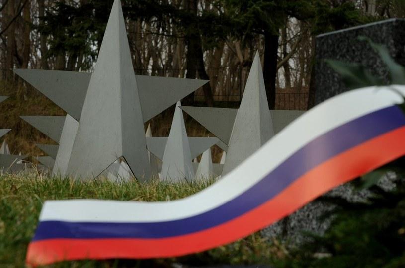 Cmentarz Żołnierzy Radzieckich w Gdańsku: 1088 gwiazd symbolizuje pochowanych czerwonoarmistów  fot. Wojciech Stróżyk /East News/Reporter