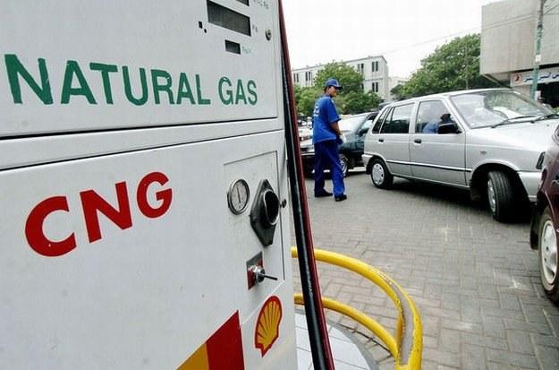 CNG to paliwo tanie i ekologiczne /AFP