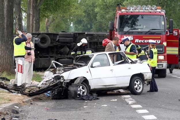 Co 10. kierowca to potencjalny morderca? /PAP