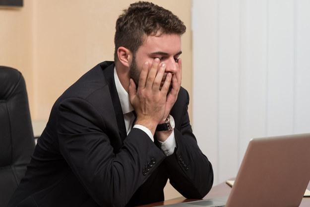 Co drugi Polak odczuwa stres na myśl o pracy /123RF/PICSEL