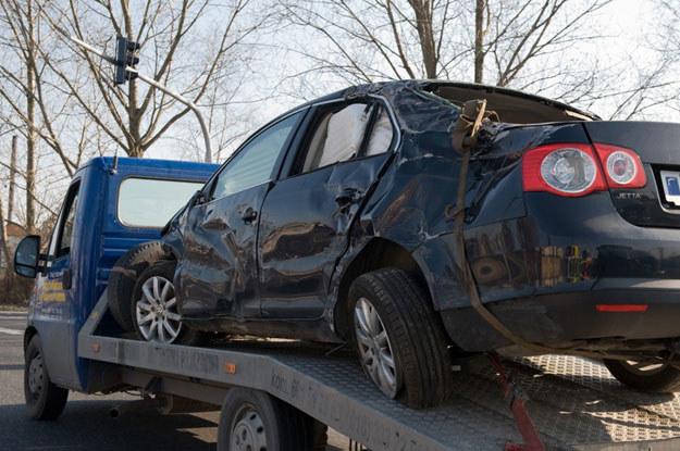 Co najmniej 35% sprowadzanych do Polski samochodów jest po kraksach. Fot. Tadeusz Koniarz /Reporter