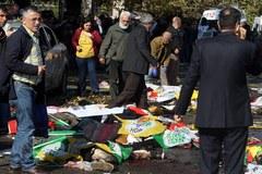 Co najmniej 95 ofiar zamachu przed dworcem kolejowym w stolicy Turcji