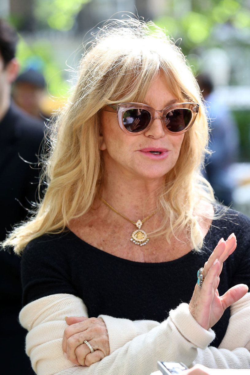 Co oznacza pierścionek na palcu Goldie Hawn? /Getty Images
