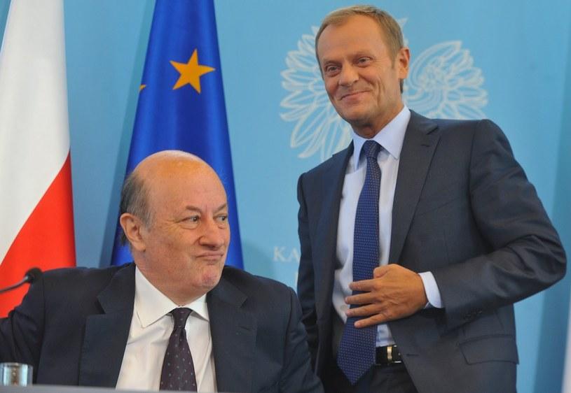 Co przyszłym emerytom zgotowali Jacek Rostowski i Donald Tusk? /Witold Rozbicki /Reporter