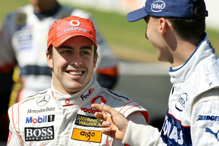 Co Robert powiedział Fernando Alonso? / kliknij /AFP