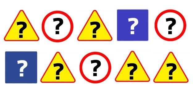 Co ten znak może oznaczać? /INTERIA.PL