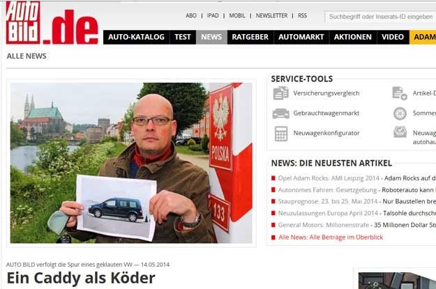 Co za bezczelność! Auto Bild swoim postępowaniem wpisał  się w wielowiekową tradycję paskudnych prowokacji wobec Polaków /