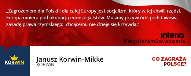 Co zdaniem państwa ugrupowania jest teraz największym zagrożeniem dla Polski? /INTERIA.PL