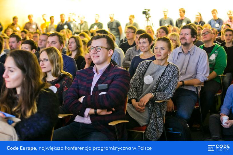 Code Europe to największa konferencja programistyczna w Polsce /materiały prasowe
