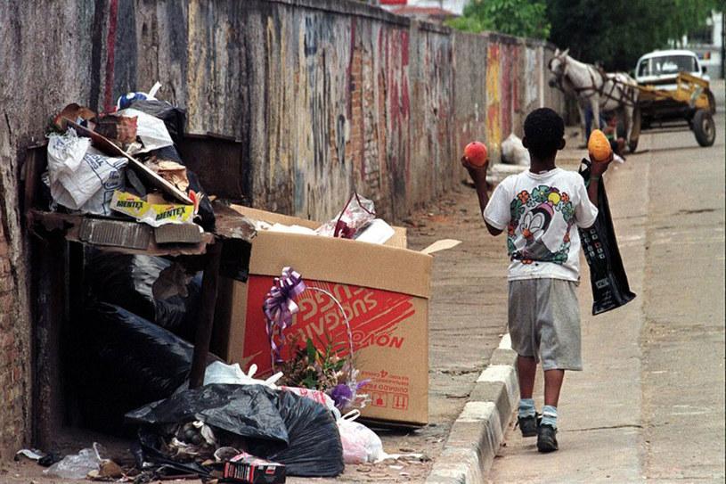 Codziennie w Sao Paulo wyrzuca się 40 tys. ton śmieci /AFP