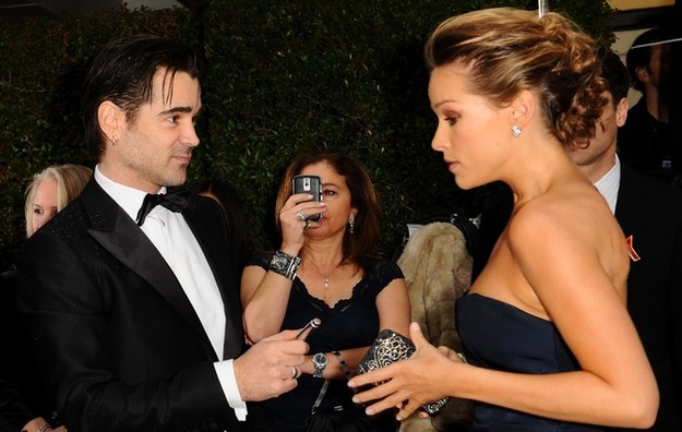 Colin Farrell i Alicja Bachleda-Curuś /Caulfeld /Getty Images