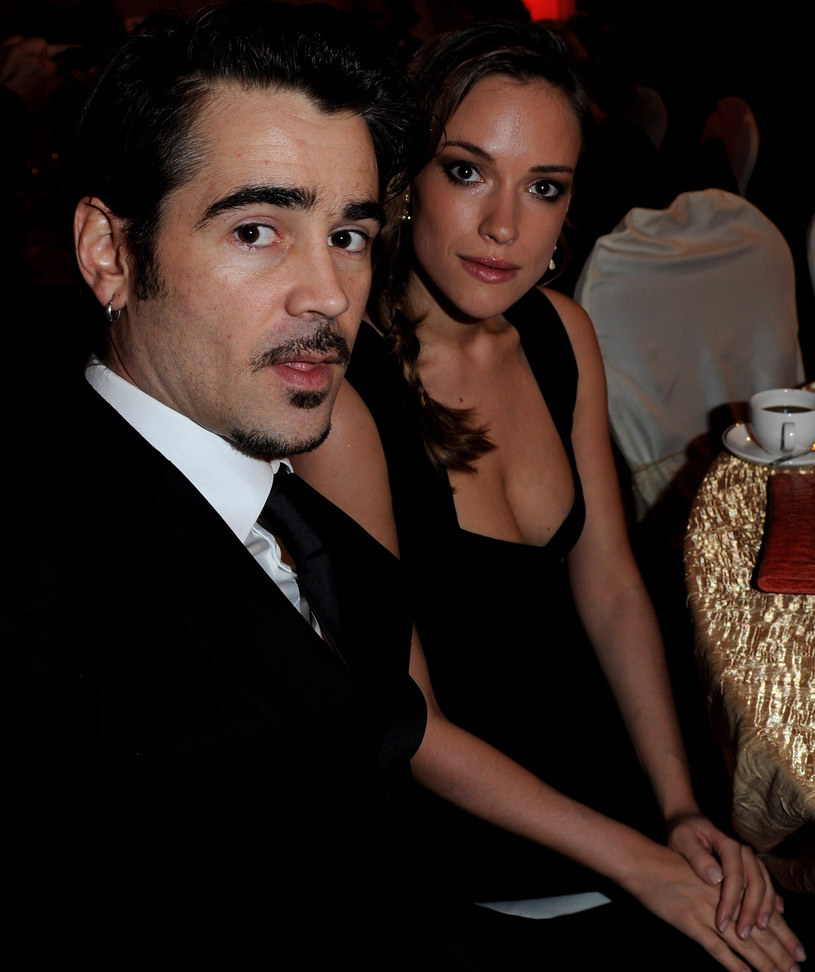 Colin Farrell i Alicja /Eamonn McCormack /Getty Images