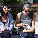 Colin Farrell je wegetariański lunch na ulicy