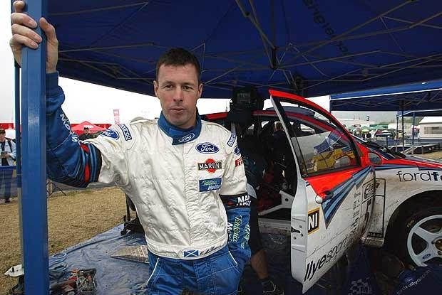 Colin McRae - jeszcze z Fordem (kliknij) /INTERIA.PL