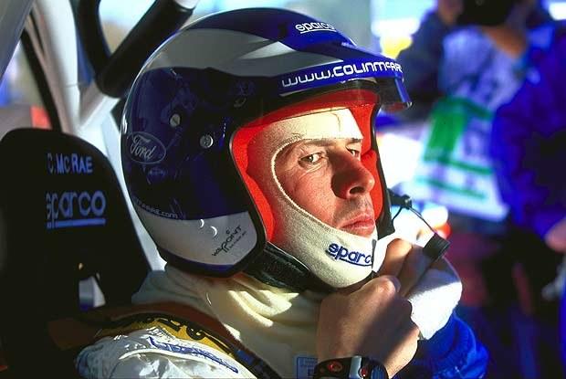 Colin McRae prowadzi po pierwszym dniu rajdu /INTERIA.PL