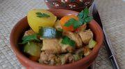 Colombo z wieprzowiny, z warzywami