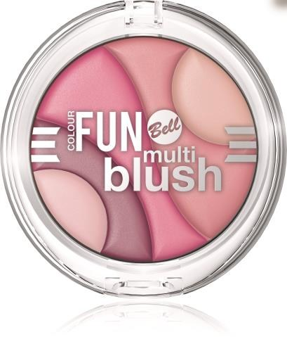 Color Fun Multi Blush Bell  ok. 17 zł /Mat. Prasowe