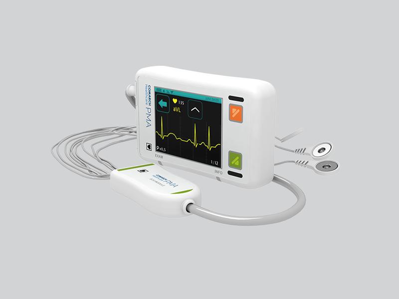 Comarch PMA   Nowoczesny cyfrowy rejestrator EKG, pozwalający na ciągłe wykonywanie  wielodniowych  badań /materiały prasowe