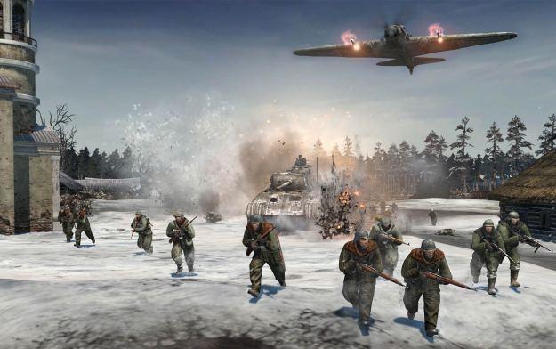 Company of Heroes 2 - motyw graficzny /Informacja prasowa