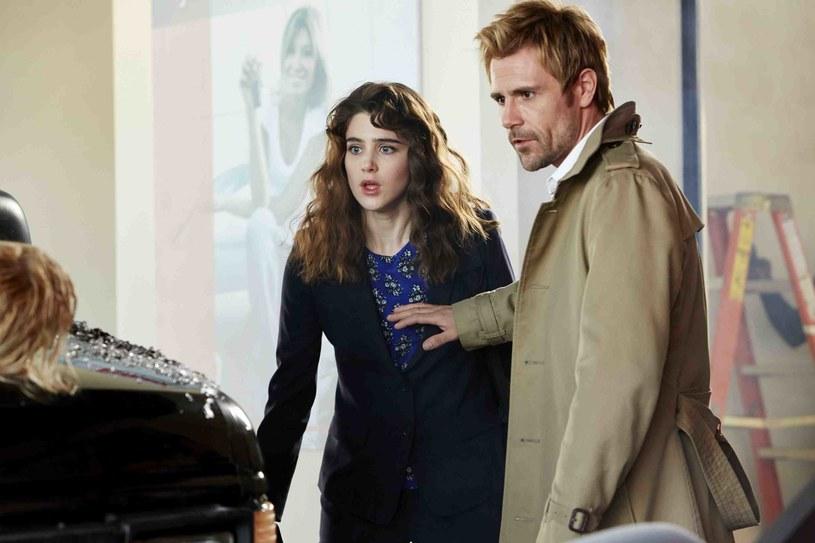 """""""Constantine"""": Premiera: jesień 2014 r. – Staramy się trzymać materiału źródłowego. Bardzo podoba mi się postać Constantine'a – z jednej strony jest trochę sarkastyczny, a z drugiej mroczny – mówi o granym przez siebie bohaterze Matt Ryan /materiały prasowe"""