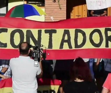 Contador uroczyście pożegnany w rodzinnym mieście. Wideo