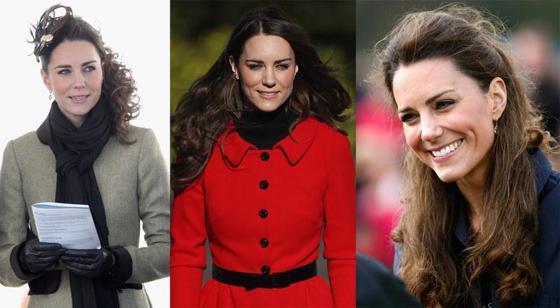 Coraz częściej Kate spina włosy - całkiem lub częściowo  /Getty Images/Flash Press Media