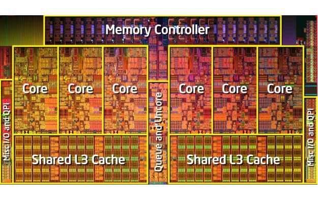 Core i7-980X Extreme Edition składa się z 1,17 miliarda tranzystorów /HeiseOnline