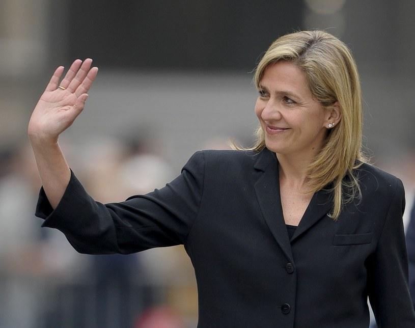 Córka króla Hiszpanii, infantka Cristina /AFP