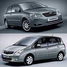 Corolla T-Sport i Corolla Verso /INTERIA.PL