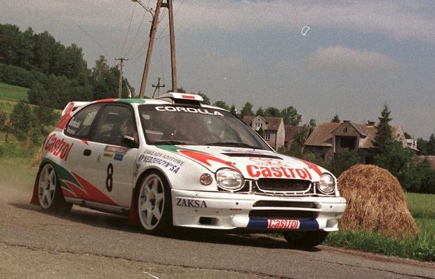 Corolla WRC. Ktoś pamięta? /Agencja SE/East News