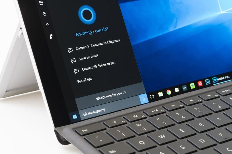 Cortana, cyfrowy asystent autorstwa Microsoftu, staje się coraz bardziej inteligentna /materiały prasowe