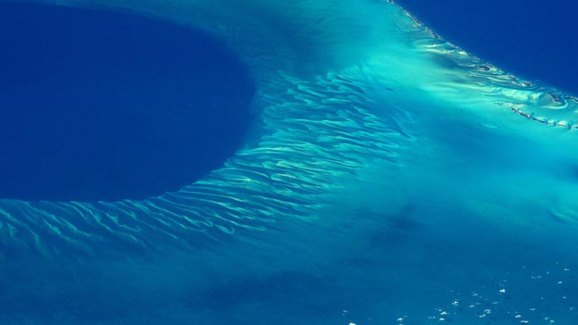 Coś ogromnego jest pod wodami Bahamów /fot. NASA /materiały prasowe