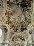 Cosmas Asam, fresk, kościół we wsi Legnickie Pole /Encyklopedia Internautica