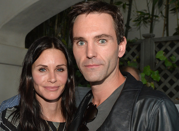 Courteney Cox i Johnny McDaid /Getty Images