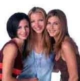 Courtney Cox (z lewej) i Jennifer Aniston (po prawej) /INTERIA.PL